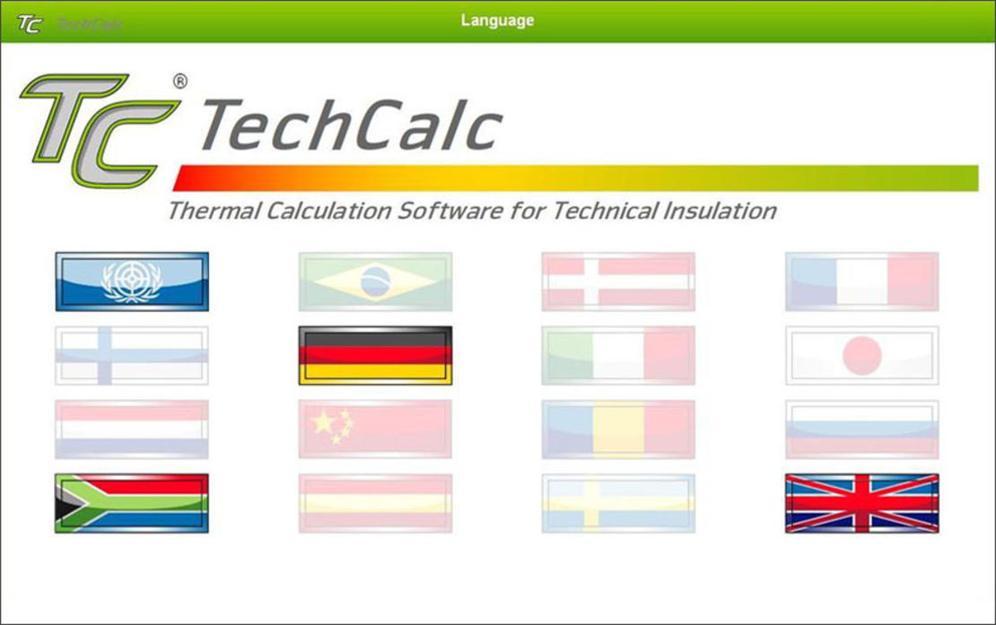 TechCalc - Language